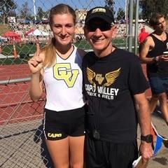 Haley Herberg and Coach